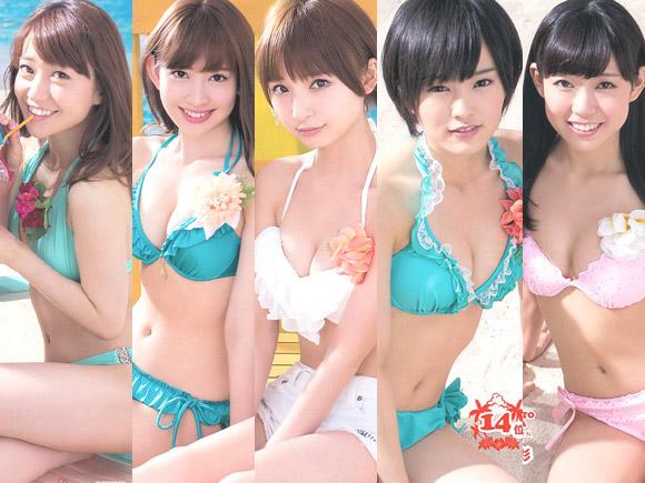 【AKB】2013年も総選挙のあとは水着サプライズ!! 予告編 画像×6