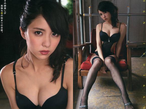 だんだん過激セクシーも解禁し始めた石川恋の画像