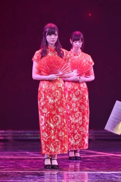 乃木坂46のチャイナドレス画像001