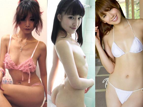 【痩せ】スレンダー体型な女の子に萌えるエロ画像【ガリ】