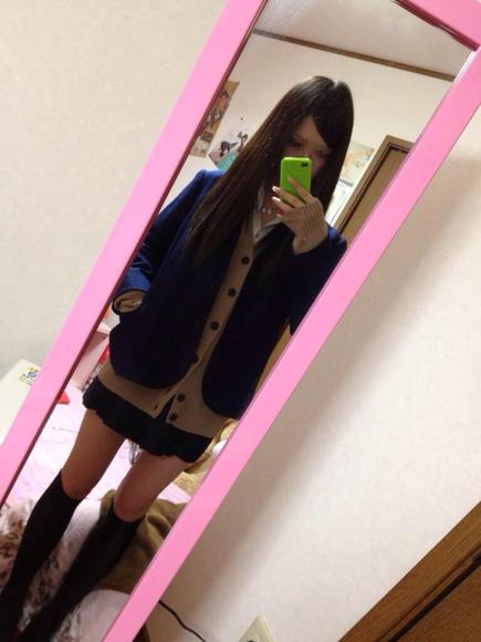 スカートと綺麗な脚026