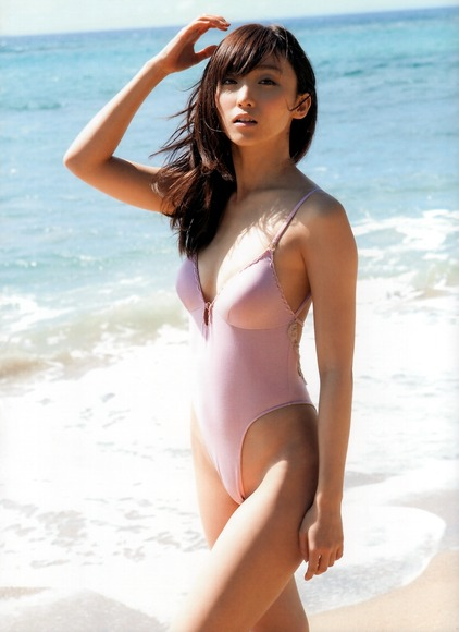 美女オンザビーチ025