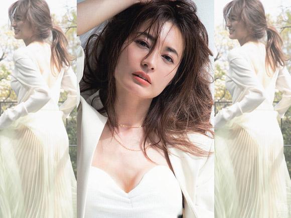 いつまでも美しい、女優・新山千春