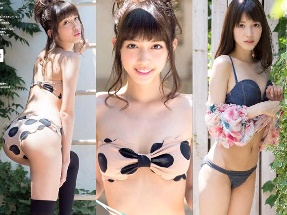 松田るか(19) ブレイク確実の超美少女がグラビアで初水着!画像×12