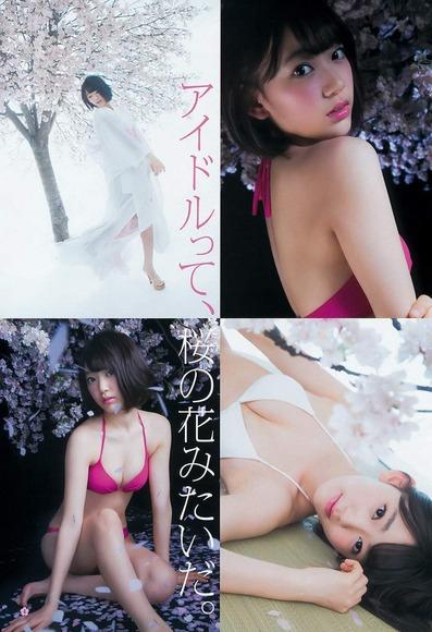 HKT宮脇咲良のグラビア画像005