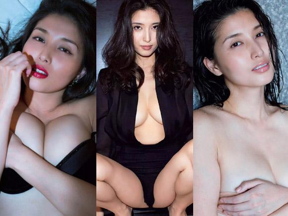 30歳を過ぎた大人の女性の性欲がほとばしる橋本マナミの情欲に満ちたグラビアが大好評