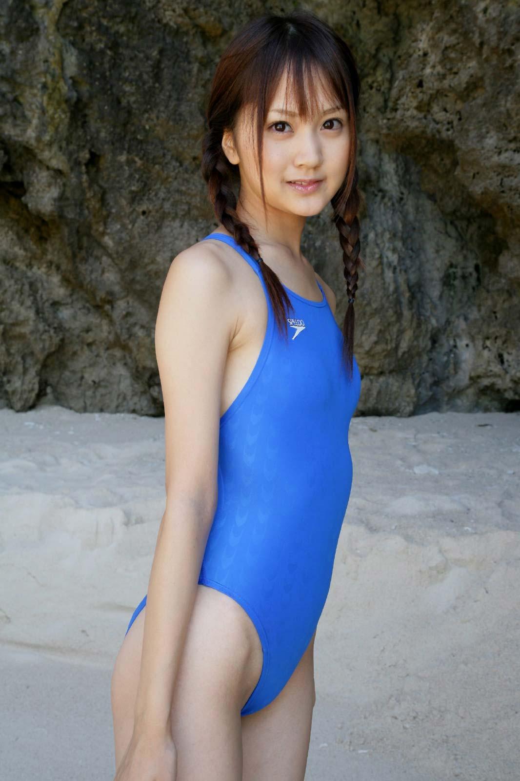 【30枚】浜田翔子の競泳水着コレクション画像6