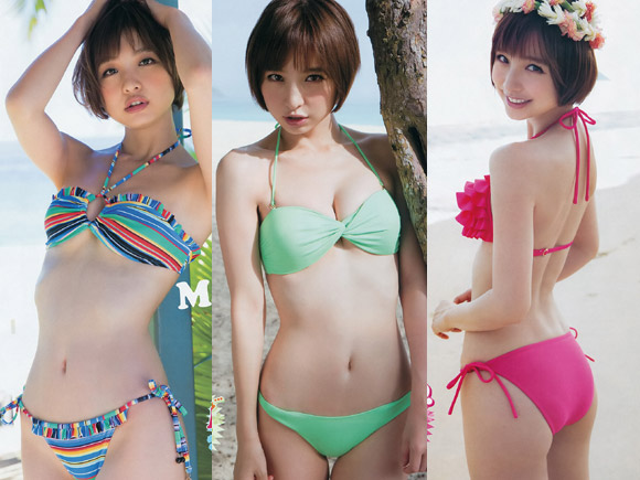 篠田麻里子のエログラビア画像