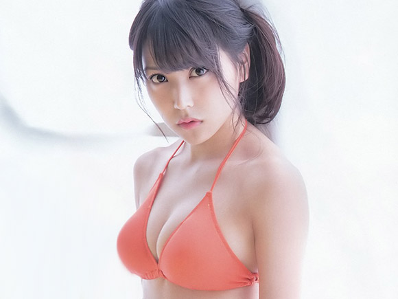 NMB白間美瑠(18)の巨乳化が止まらない!画像×85