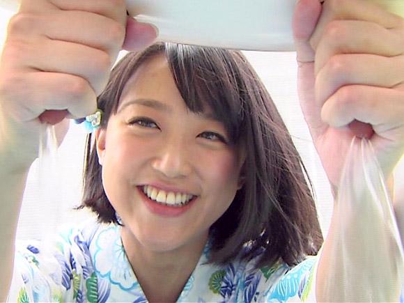 好きなアナウンサーランキングに毎回上位ランクインを果たす超人気アナ竹内由恵さんが乳搾り体験で手を。。。