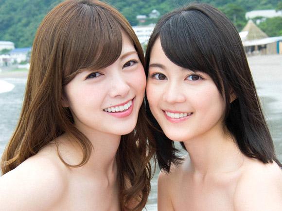 仲良し姉妹にも見える二人