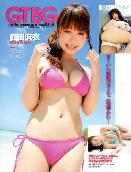 西田麻衣の画像044