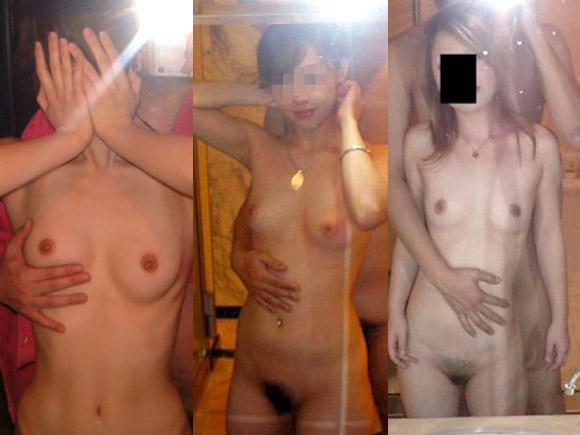 素人美女が監禁拘束されて全裸のまま犯されてしまう