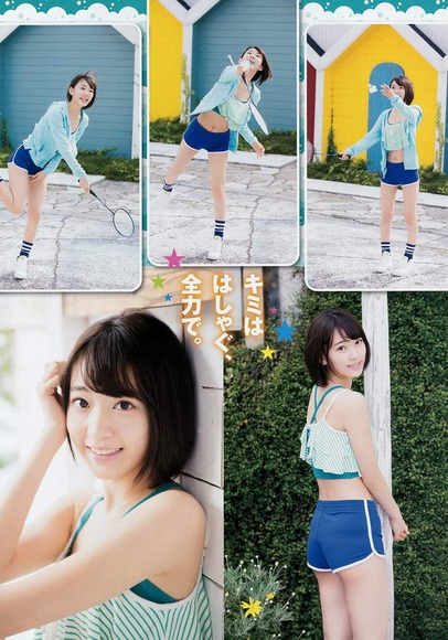HKT宮脇咲良のグラビア画像040