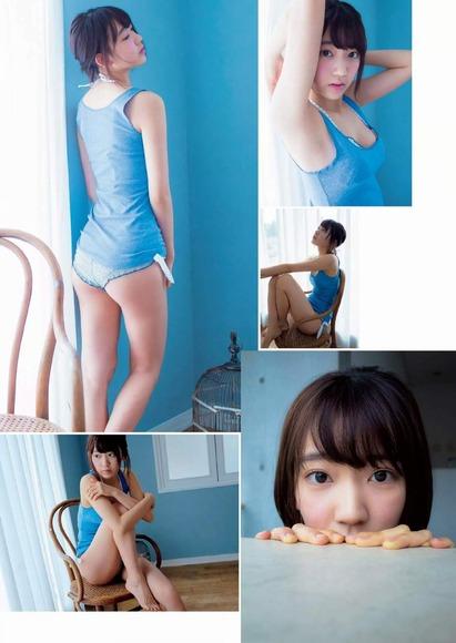 HKT宮脇咲良のグラビア画像011