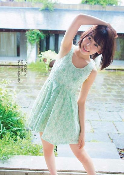 HKT宮脇咲良のグラビア画像014