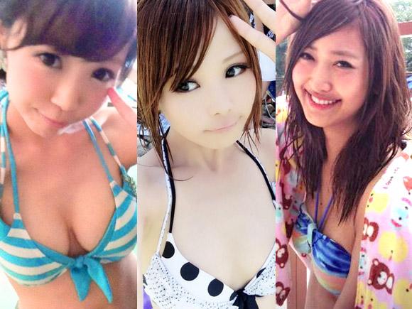 【レベル高すぎ】かわいい素人の水着自撮り・記念写真集めたったwwwww(37枚)