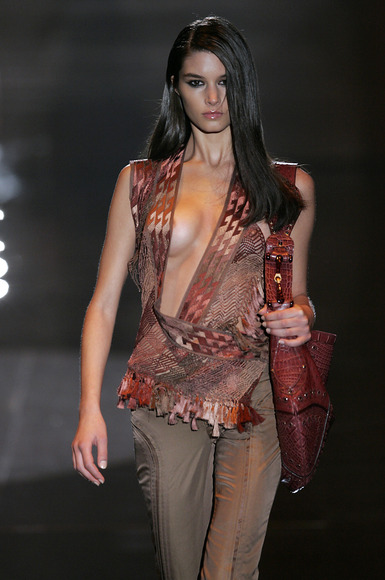 スーパーモデルの乳首チラ012