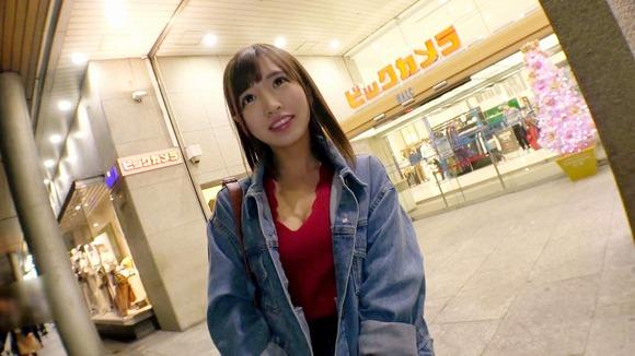 【一発ヤリに来ました♪】で大好評だった21歳の美容部員あやちゃん参上!
