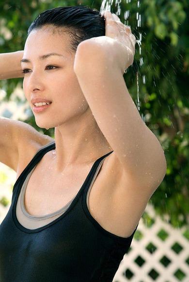2016年6月15日追加 吉瀬美智子の腋フェチ画像012