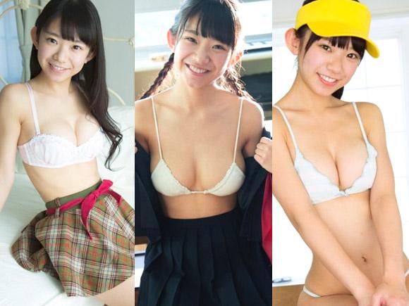 幼い顔とFカップ巨乳のコントラストで大人気のまりちゅうこと長澤茉里奈