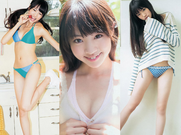 志田友美(16) スタイル抜群!天然ロリ系美少女のグラビア画像×27
