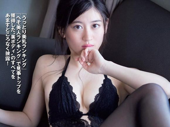 NMB上西恵(21) うっとり美巨乳なお嬢様。画像×78