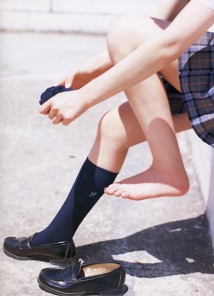 スカートと綺麗な脚022