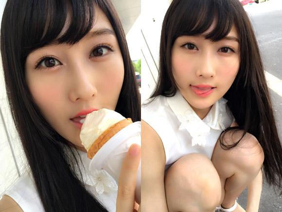 黒髪ロングでますますお嬢様感が満載の矢倉楓子。ファンならずとも全国の男子の心を鷲掴みにする写真をアップ