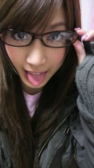 大島麻衣舌のフェチ画像004