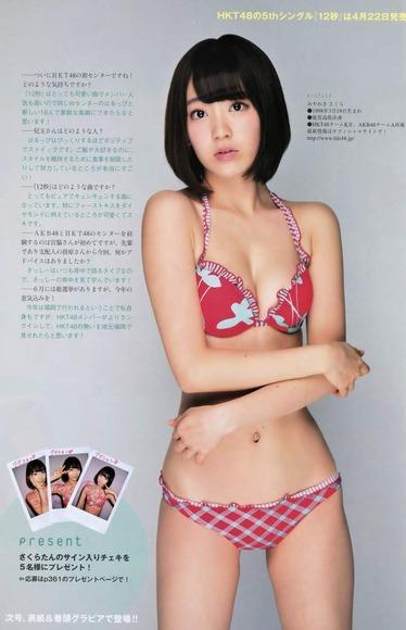 HKT宮脇咲良のグラビア画像062