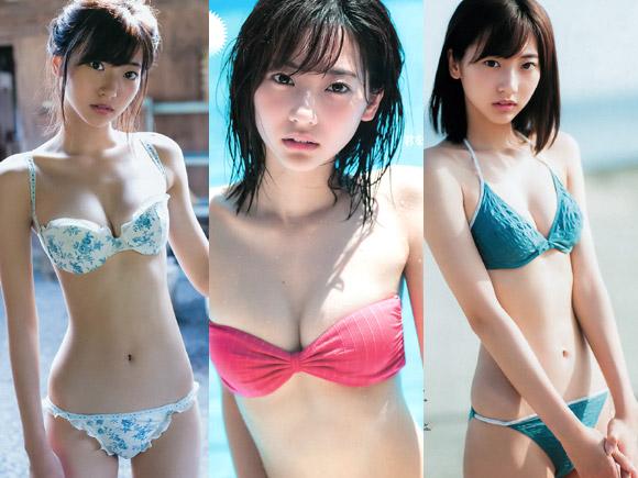グラビアでも大活躍中の現役女子高生の武田玲奈