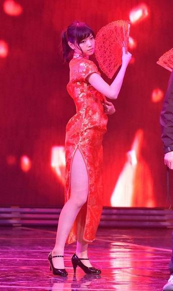 乃木坂46のチャイナドレス画像012
