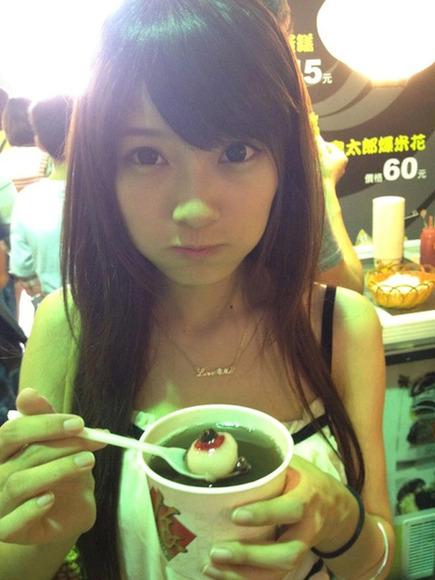 台湾の美人JD010