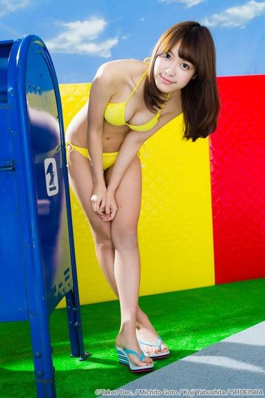 松本愛のグラビア画像014