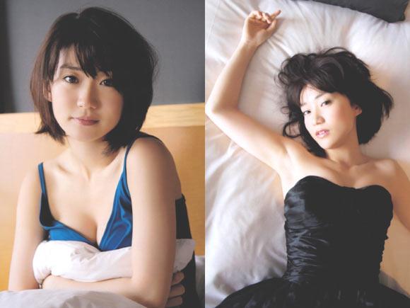 大島優子のセクシーグラビア画像
