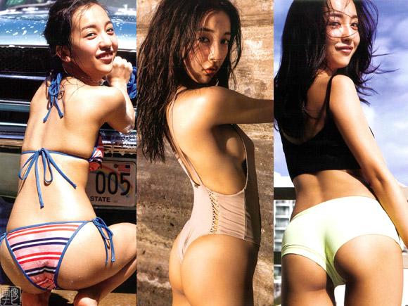 ともちんこと板野友美が新写真集で大サービスした美尻画像のまとめ記事です