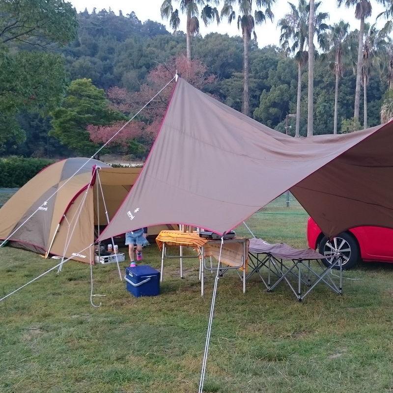 キャンプ再び