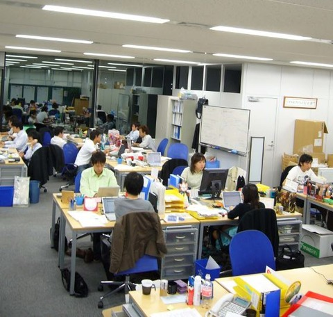 新上野オフィス社内