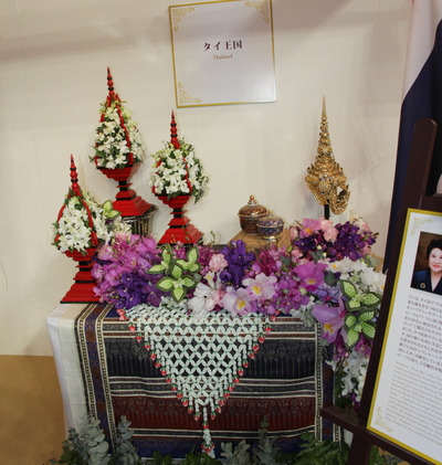大使夫人のテーブルディスプレイ タイ-6921