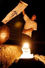 西島一洋:追悼儀:明通寺にて:2007年7月15日