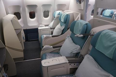 大韓航空ファーストクラス