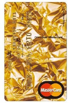 Orico Gold MasterCard Premium Gold Insurance