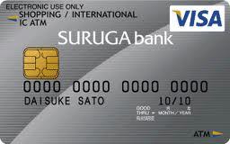 スルガ銀行VISAデビットカード