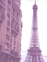 エッフェル塔とアパート