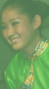 中国パフォーマンス 緑服