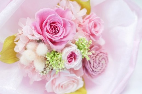 flower arrangement by saiba-