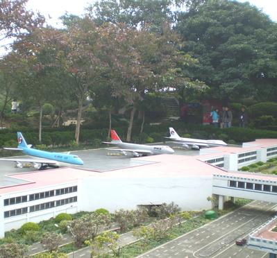 台湾 小さな飛行場