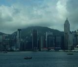 香港での海景色