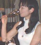 ワインを飲みながら
